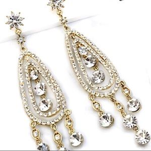 "5"" Swarovski Crystal Chandelier Earrings"